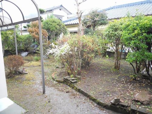 お庭もあります。